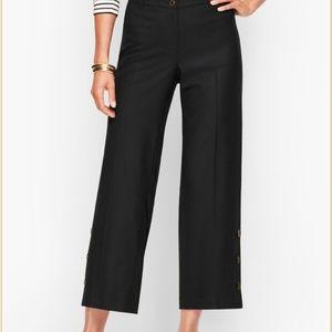 Talbots Wide Leg Crop Pants